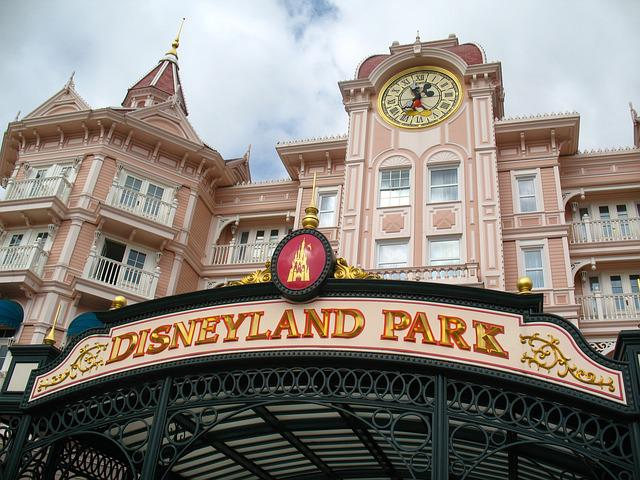 Disneyland Park, Amusement, Tourism, Entrance, France