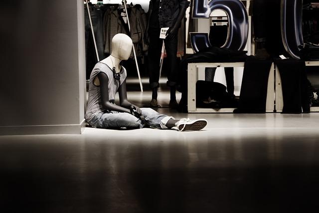 Doll, Window, Fashion, Display Dummy, Department Stores
