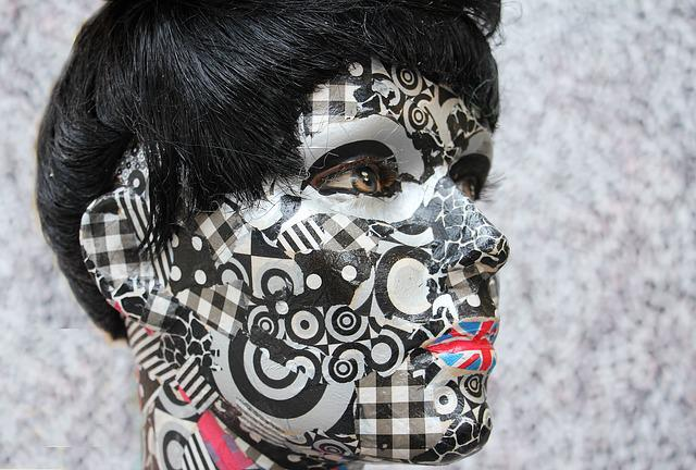 Display Dummy, Doll, Decoration, Head, Face, Pattern