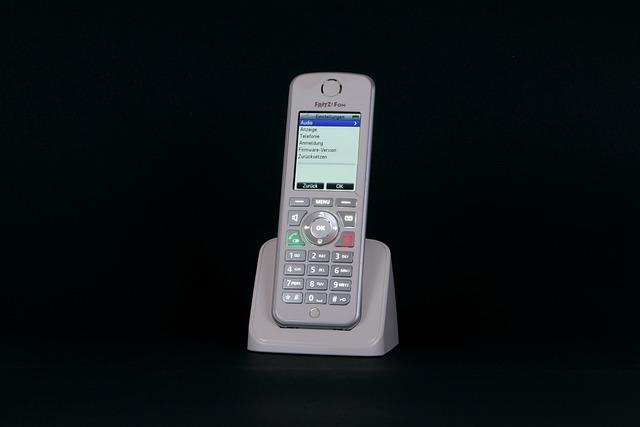 Phone, Fritz Fon, Cordless, Display, Keys