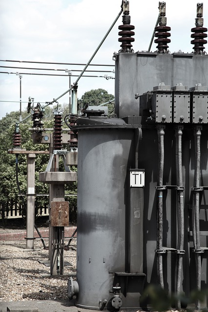 Free Photo Current Electricity High Voltage Substation
