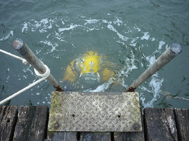 Divers, Helmet Diver, Dm220, Underwater, Dräger