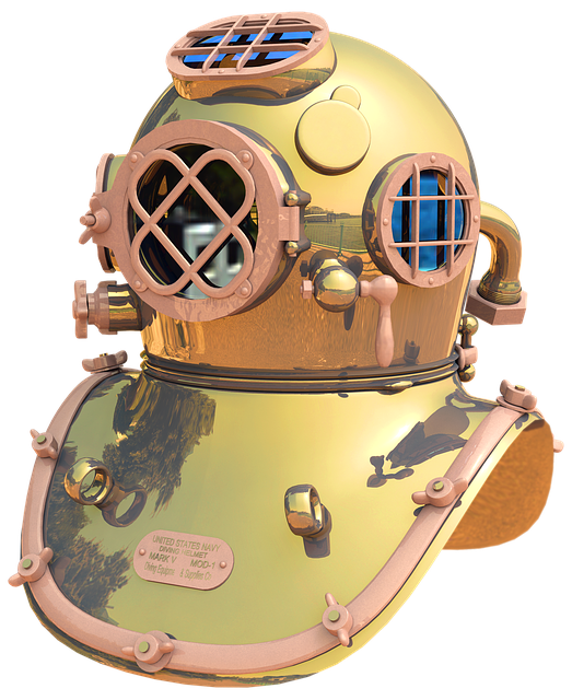 Divers Helmet, Helmet Diver, Diving, Divers, Navy
