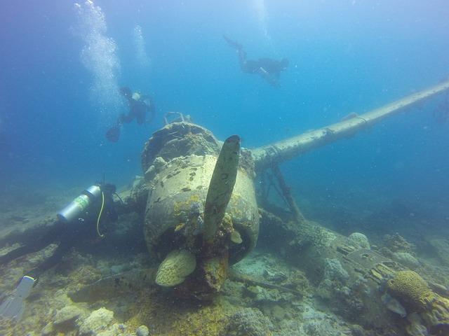 Seaplane, Palau, Shipwreck, Plane Wreck, Wreck, Diving
