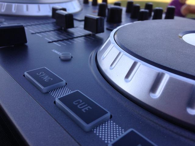 Dj, Mixer, Professional, Audio, Entertainment, Dance