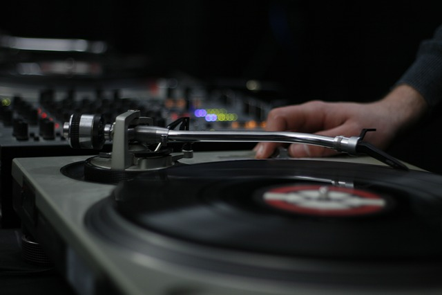 Deejay, Dj, Mixer, Night, Record, Turntable, Vinyl