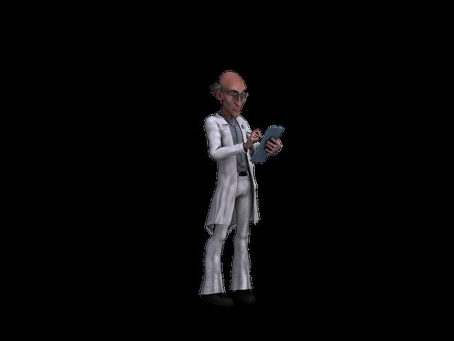 Doctor, Figure, Fantasy, Funny, Friendly, Digital Art