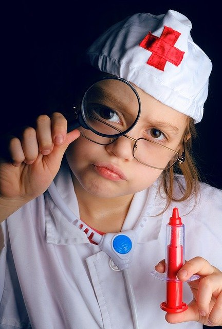 Ambulance, Doctor, Medical, Playing Doctor, Child