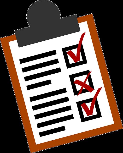 Checklist, Lists, Business, Form, Checkbox, Document