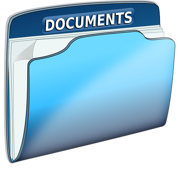 Documents, Folder, Office, Text, File, Blue