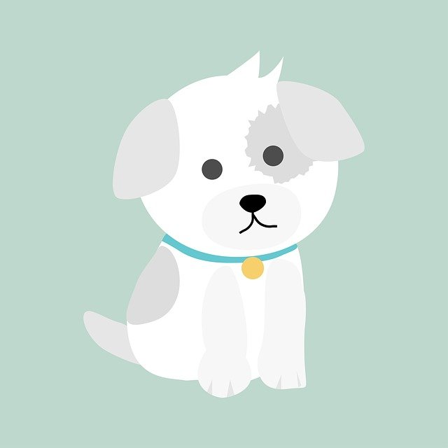 Dog, Puppy, Cute, Cartoon, Animal, Character, Funny