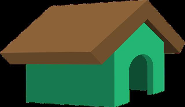 Dog House, Kennel, Pet, Animal, House, Dog, Doghouse