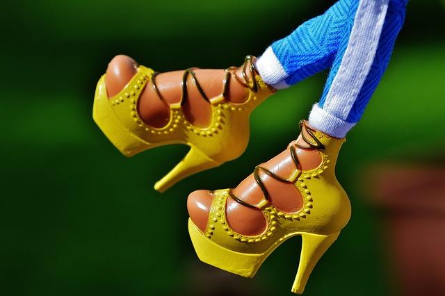 Feet, Doll, Shoes, High Heels, Toys, Girls Toys