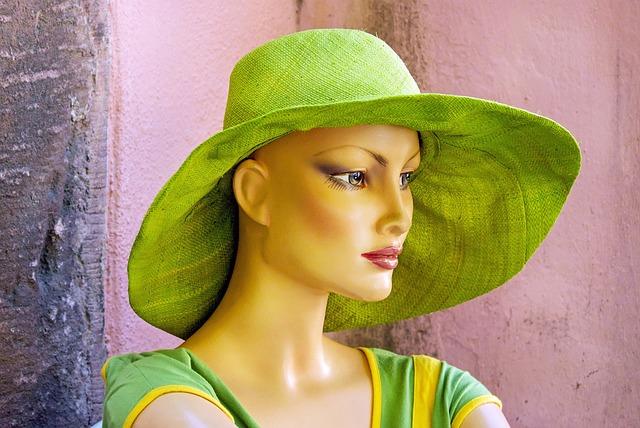 Display Dummy, Doll, Woman, Fashionable, Hat