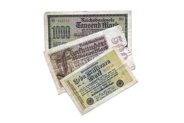 Dollar Bill, Imperial Banknote, Millions, Mark