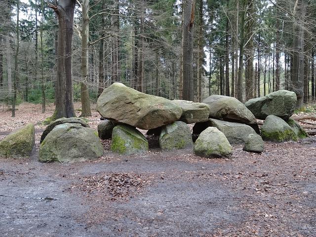 Dolmen, Dolmens, Ancient Times, Drenthe, Nature, Stones