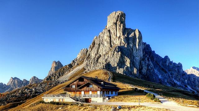 Ra Gusela, Passo Giau, Dolomites, Italy, Mountain Group