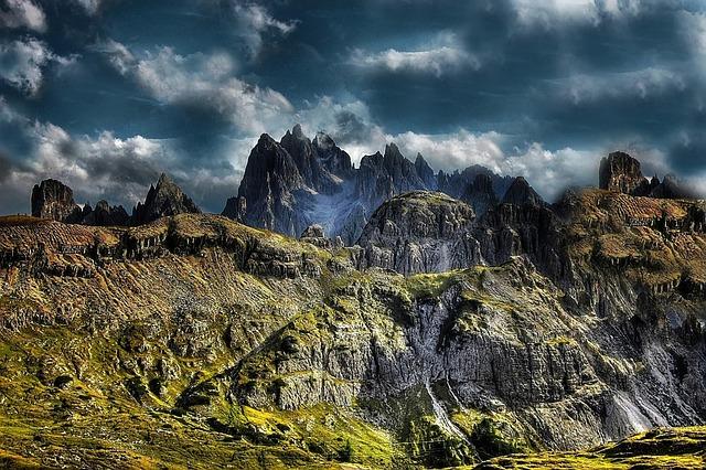Cadini, Dolomites, Mountains, Nature, Italy