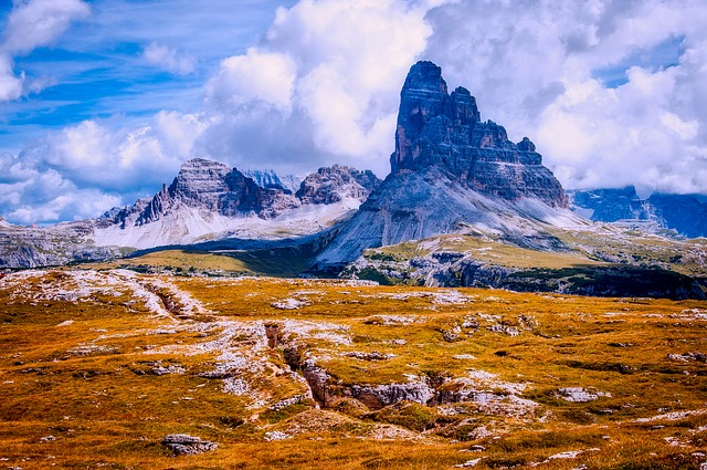 Italy, Dolomites, Mountains, Meadow, Landscape, Scenic