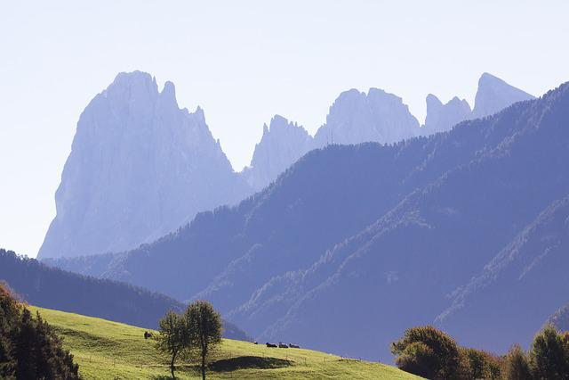 Dolomites, Italy, South Tyrol, Landscape, Sassolungo