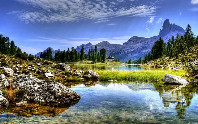 Dolomites, Mountains, Lake, Italy, Hiking, Nature