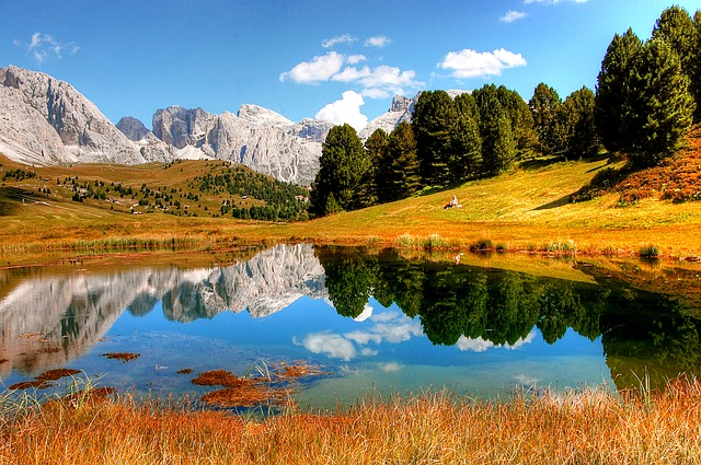 Dolomites, Mountains, Italy, South Tyrol, View, Alpine
