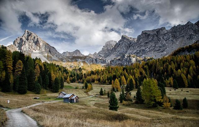 Val Di Fassa, Mountain, Dolomites, Nature, Landscape