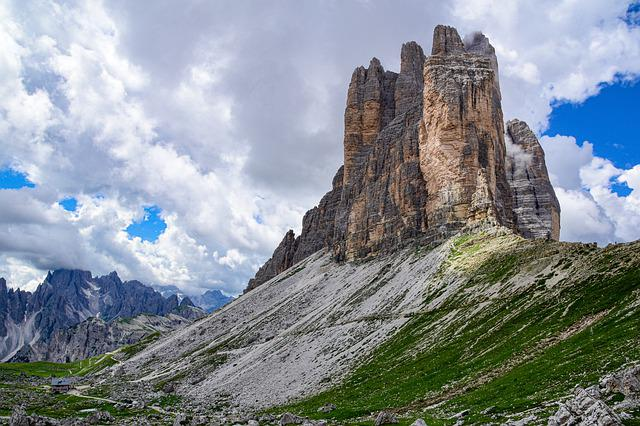 Three Zinnen, Tre Cime, Dolomites, Sesto, South Tyrol