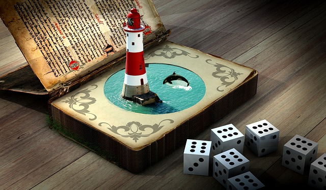 Lighthouse, Dolphin, Cube, Secrets, Book Contents, Wave