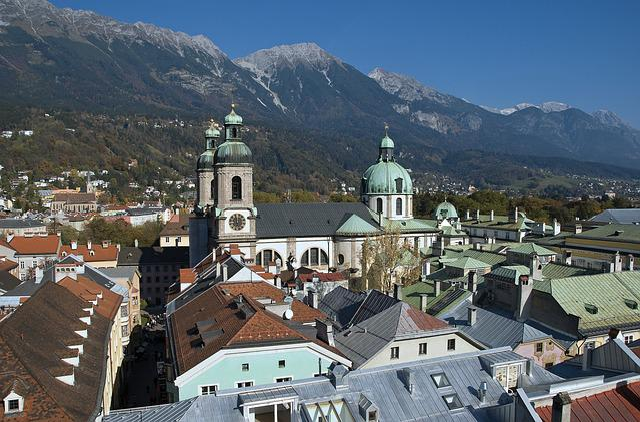 Austria, Tyrol, Innsbruck, State Capital, Church, Dom
