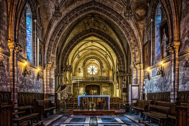 Church, Architecture, Dom, Chapel, Old, Building