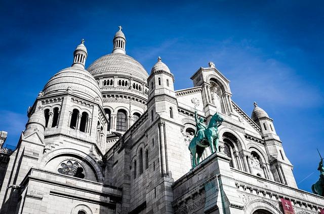 Paris, Church, France, Dom, Places Of Interest