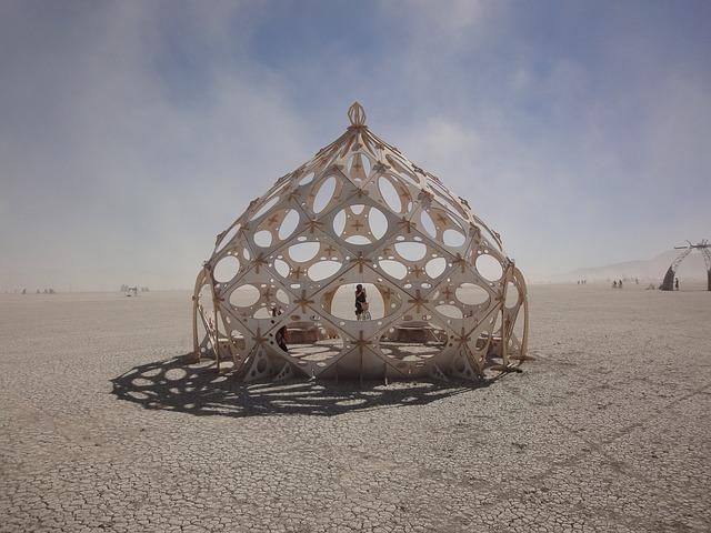 Burning Man, Dome, Dust