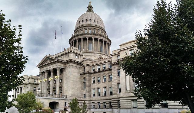 Boise, Idaho, Capital, Dome, Government, Architecture