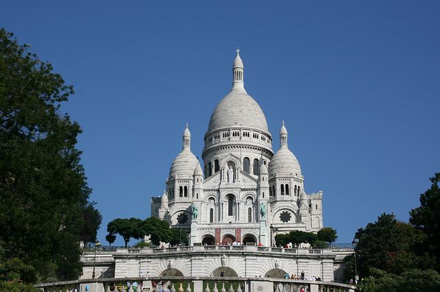 Sacre Coeur, Dome Of Church, Paris