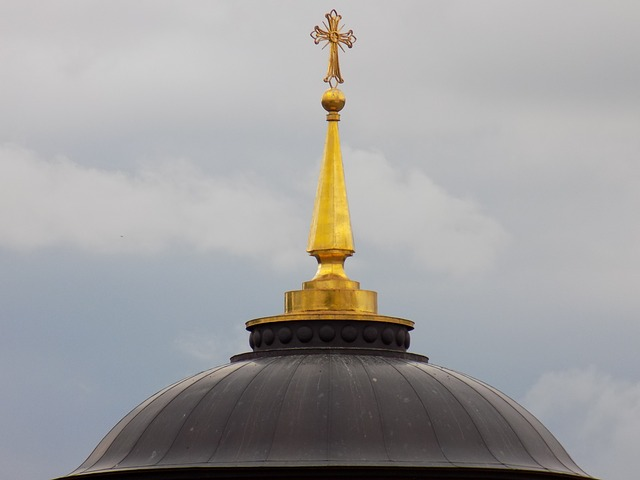 Cross, Dome, Dome Of The Cathedral, Religion