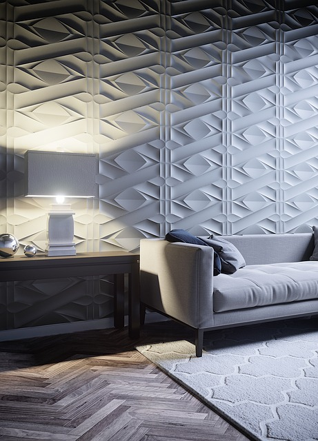 Living Room, Furniture, Domestic, White, Wood