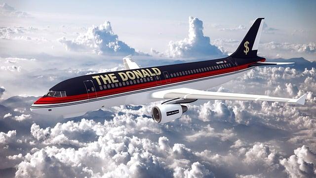 Donald, Trump, President, America, Usa, Aircraft