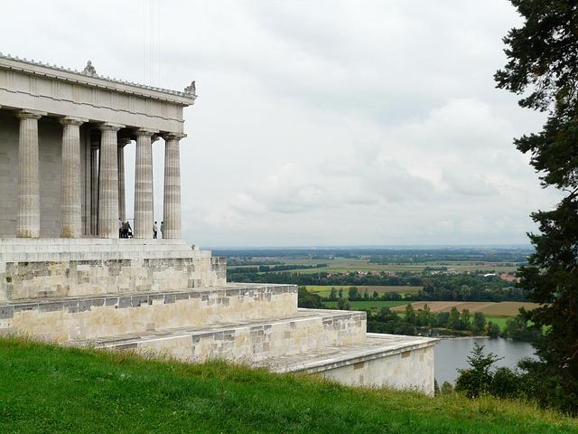 Walhalla, Memorial, Hall Of The Fallen, Donaustauf