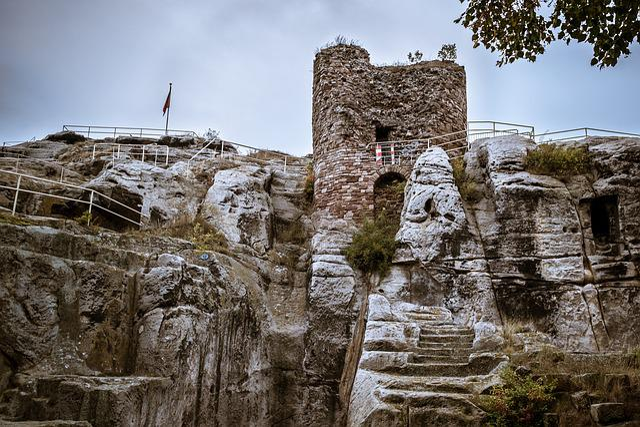 Castle, Ruin, Keep, Tower, Donjon, Fortress, Burgruine