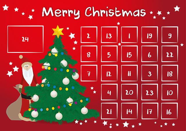 Advent Calendar, Advent, Calendar, Door, 24, Gifts