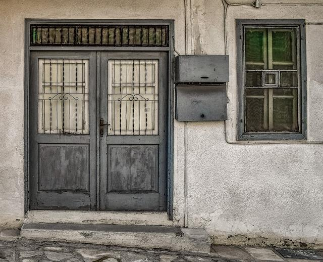 Old House, Door, Window, Architecture, Traditional