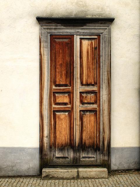Door, Old, Entrance, The Old Door, Architecture