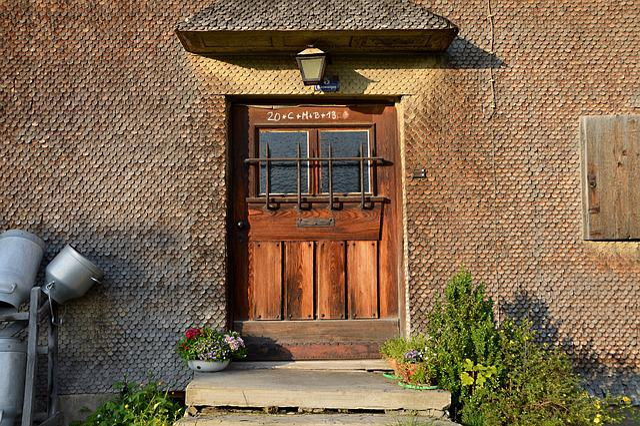 Museum, Door, Input, Milk Can, Old, Farmhouse