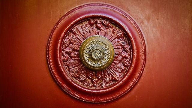Door Knob, Door, Input, Old, Door Handle, Metal