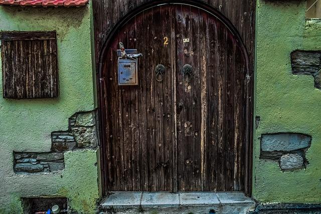Door, House, Architecture, Entrance, Gate, Exterior