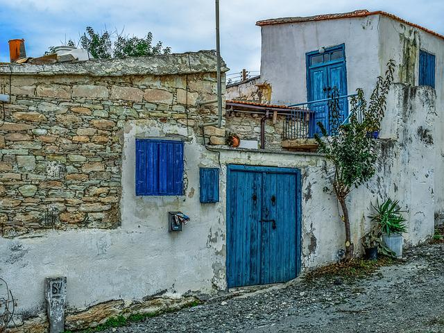 House, Architecture, Traditional, Wall, Old, Door