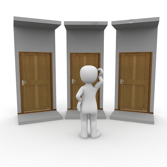 Door, Apartment, Input, Blocked, Front Door