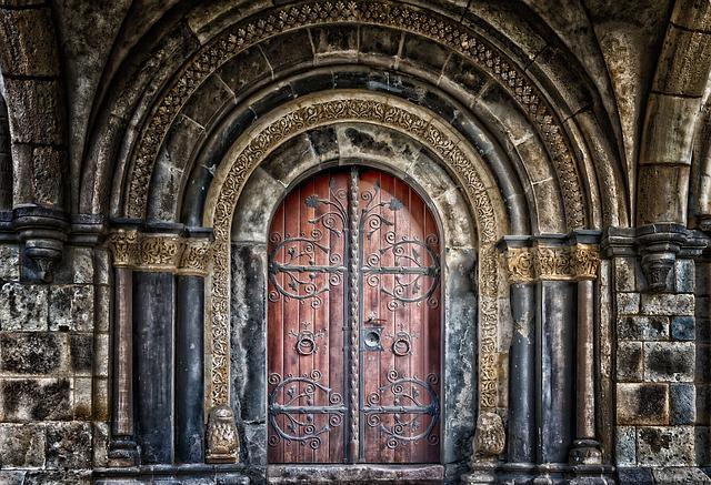 Goal, Portal, Gate, Door, Input, Old Door, Old