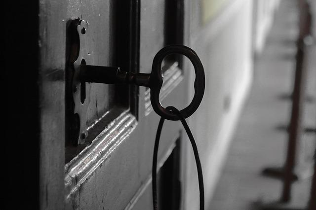 Old, Door, Texture, Iron, Lock, Key, Metal, Detail, Log